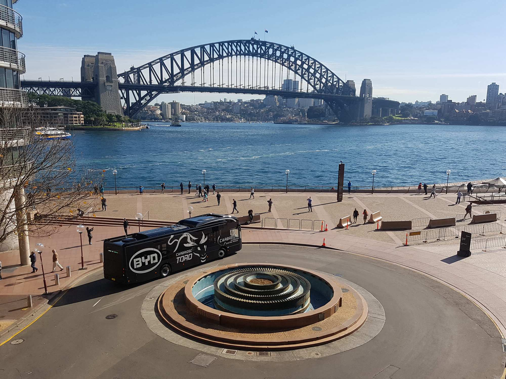 BYD Secures Extra Orders from Sydney Airport Transport Provider
