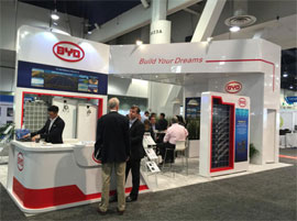 BYD takes its fully sustainable power solutions to SPI